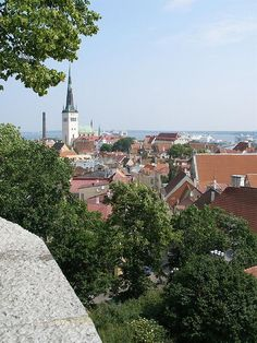 Tallinn, Estonia #COLOURFULESTONIA #VISITESTONIA I had twin teammates in TFOC volleyball from here and I want to see it!