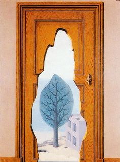 René Magritte - The Amorous Perspective, 1935