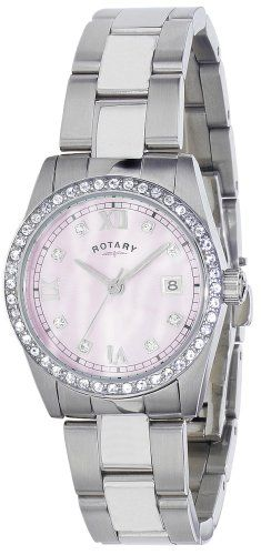 Rotary LB02343-07 Ladies Havana Crystal Set Watch >>> Startling review available here