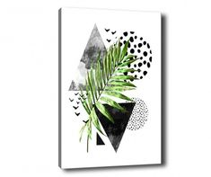 Leaf Collage Kép 70x100 cm Collage, Leaves, Canvas, Inspiration, Products, Tela, Biblical Inspiration, Collages, Canvases