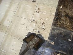 Vinyl asbestos floor tile identification photo U.S. Library of ...
