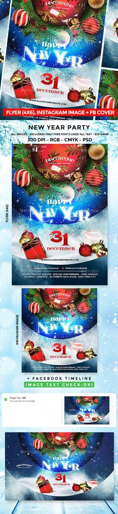 #New Year - Events #Flyers