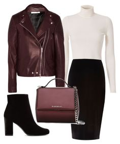 """""""Pumpkin Spice Style"""" by miss-valeria ❤ liked on Polyvore featuring A.L.C., Givenchy, River Island and Yves Saint Laurent"""