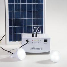 miSolar - Home Lighting Solar Light Kit, Solar Lights, Home Lighting, Indoor, Products, Interior, Solar Lanterns, Gadget, Homemade Lighting