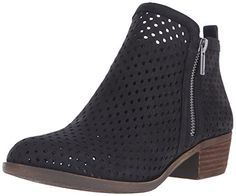 Lucky Womens LkBasel3 Ankle Bootie Black 8 M US >>> You can find out more details at the link of the image.