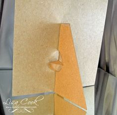 from crayons to Copics: card making ideas, free designs: Stand Up Bracket Template