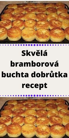 Skvělá bramborová buchta dobrůtka recept Hot Dog Buns, Hamburger, French Toast, Muffin, Food And Drink, Bread, Baking, Breakfast, Ethnic Recipes