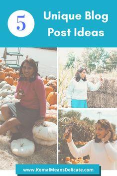 Unique blog post idea, blogging tips, new blogger #bloggingtips #newblogger #blogpostideas