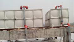 20m3 FRP water tank Galvanized Water Tank, Steel Water Tanks, Model Railroader