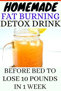 Detox Drink Before Bed, Drinks Before Bed, Vinegar Detox Drink, Apple Cider Vinegar Detox, Turmeric Detox Drink, Liver Detox Drink, Colon Detox, Turmeric Tea, Fat Burning Smoothies