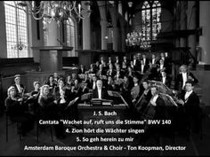 """4th movement of J.S. Bach's """"Wachet Auf"""" cantata. OK, I could listen to this all day and night. This and the Jesu one. OMG."""