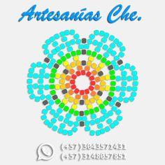 ¿Cómo hacer una flor de 6 pétalos? – Artesanías Che