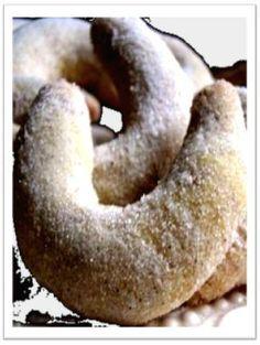 Vianočné vanilkové rožky http://svetgastronomie.sk/vanilkove_rozky