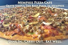 Memphis Pizza Cafe is just 1.3 miles from CBU and offers award-winning selections year after year. A local favorite, it isn't to be missed if you are visiting the university.