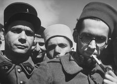 French Foreign Legion soldiers at their Syrian Outpost, 1940