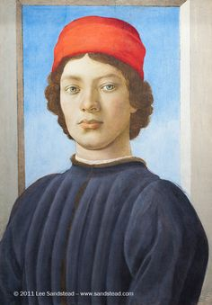 Inspired pictures - Filippino Lippi (Italian, 1457-1504), Portrait of...