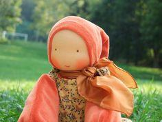 Cuddle Waldorf doll  Poupée