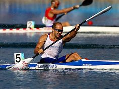 Born on January 23, 1977 in Chertsey, Surrey, England, Tim Brabants is a sprint kayaker who will represent Great Britain in 2012 London, making his third appearance at the Olympic Games. Having already won three medals (Gold; 2 Bronze) in Olympic competition, Brabants is considered amongst the favorites to claim victory in the K-1 races this summer.