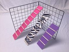 GP Ladder Guinea Pig Cage Ramp for Small Animal/Pet Cage, Ferret, Rabbit, Rodent