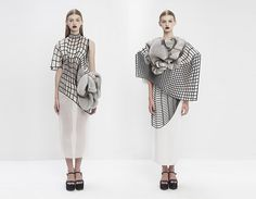 Noa Raviv Creates Sculptural Fashion Collection Inspired by 3D Modeling Software | Hi-Fructose Magazine