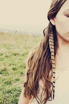 Handmade Extra Long Pheasant #Feather Extension #Hairclip, 10 inches long, feather symbolism