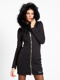 Giacca da donna Met ARAMYS in felpa -  Met // #met #metjeans #fallwinter17 #fall #winter #collection #woman #apparel #love #style #fashion #street style #falltrend