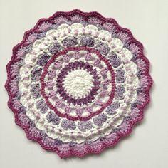 Crochet mandala - Yarndale ideas