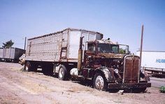 KENWORTH narrow nose with classic cattle trailer