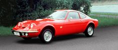 Opel GT - this was my first car. Same color, too.