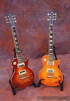 Bernie Marsden's Sid Poole guitars - www.berniemarsden.co.uk