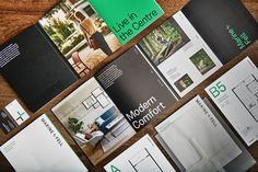 Marine + Fell by Anthem Properties - Free Agency Creative Stationery Printing, Stationery Design, Brochure Design, Print Design, Graphic Design, Real Estate Branding, Editorial Design, Typography, Invitations