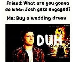 lol even though im not that into josh hutcherson this is funny