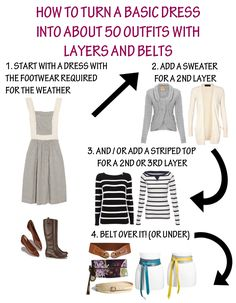 Minimalist Wardrobe Guide: How to Make Outfits Versatile using minimal accessories and purchases - belts