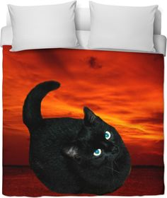 Check out my new product https://www.rageon.com/products/cat-and-red-sky-duvet-cover?aff=BWeX on RageOn!