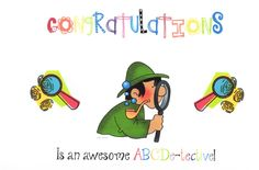 Classroom Freebies: ABCDetective Certificates