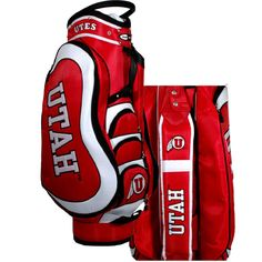 University of Utah Golf Bag With Cart