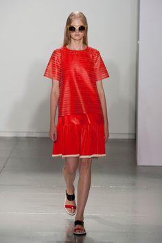 Suno Spring 2014 Runway Show   NY Fashion Week