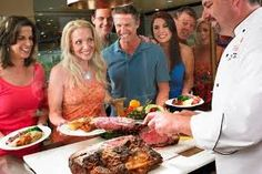 Image result for wedding carving station Carving Station, Backyard, Beef, Image, Wedding, Food, Meat, Valentines Day Weddings, Patio