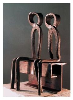 'Lovers' by Giuseppe Pongolini (forged iron)