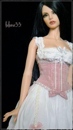 Bjd ,,, special  ju`pon corset **+