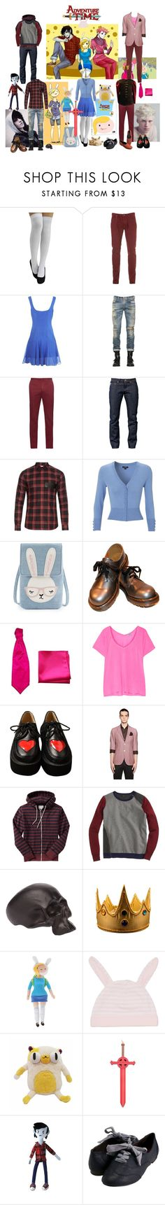 """""""Adventure Time OT3"""" by verysmallgoddess ❤ liked on Polyvore featuring Twenty8Twelve, Diesel, Incotex, Naked & Famous, Givenchy, Hobbs, Splendid, Etro, Old Navy and J.Crew"""