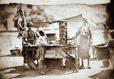 İstanbul'da bir dönerci (1854 - James Robertson)