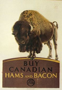 Buy Canadian Bacon by F C. Herrick, British on Josef Lebovic Gallery I Am Canadian, Canadian Travel, Canadian Bacon, Image Center, O Canada, British Colonial, Travel List, Travel Posters, Alter