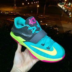 "Kids,ready to your carnival.""Nike KD VII 7 GS Carnival"""