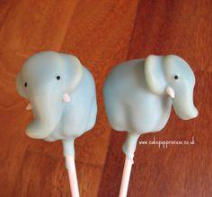 elephant cake pops tutorial