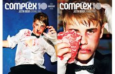 Justin Bieber covers Complex's 10th Anniversary issue.