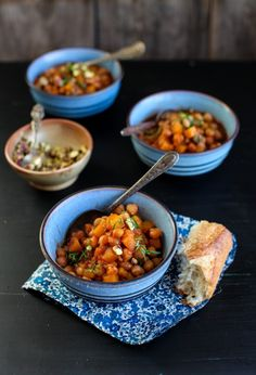 Chickpea & Cider Stew #vegan