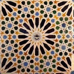 Alhambra tile design