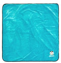 ✓ Alcott Adventures - Hundezubehör - dog gear - Weiche Decke für den Hund, Stranddecke,  Hundedecke blau auch outdoor - Soft blanket for dogs blue, beach blanket, outdoor blanket