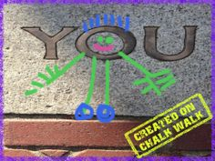 """Teaching unit: """"All About You"""" can use the app """"Chalk Walk"""" for kids to snap photos & send creations https://itunes.apple.com/us/app/chalk-walk/id517669317?mt=8&ign-mpt=uo%3D4"""
